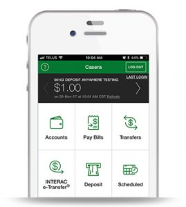 Casera Financial through your phone